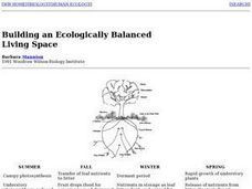 Building an Ecologically Balanced Living Space Lesson Plan