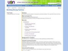 Building Strong Families Lesson Plan