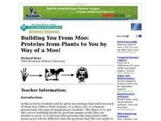 Building You From Moo Lesson Plan