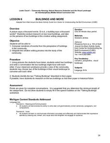 Buildings And More Lesson Plan