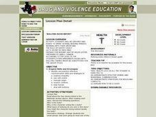 Bullying Book Report Lesson Plan