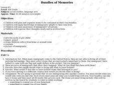 Bundles of Memories Lesson Plan