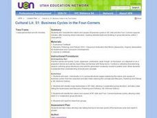 Business Cycles in the Four-Corners Lesson Plan