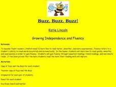 Buzz, Buzz, Buzz Lesson Plan