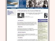 By Land and Sea: The Travels of Nellie Taft Lesson Plan