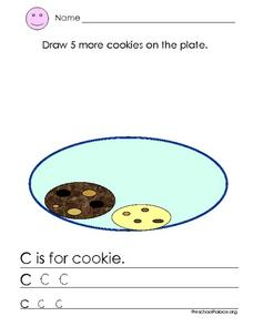 C is for Cookie Lesson Plan