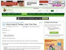 CÂ¿Â¿mo Vuela El Tiempo - How Time Flies Lesson Plan