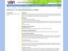 Calculating Distance On Maps Lesson Plan