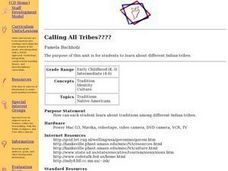 Calling All Tribes Lesson Plan