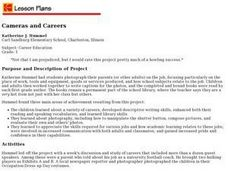 Cameras and Careers Lesson Plan