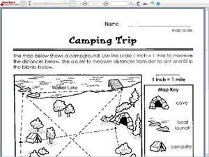 camping trip 1st 2nd grade worksheet lesson planet. Black Bedroom Furniture Sets. Home Design Ideas