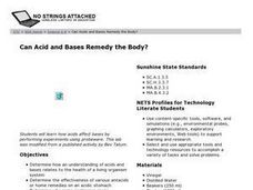 Can Acid and Bases Remedy the Body? Lesson Plan