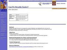 Can We Breathe Easier? Lesson Plan