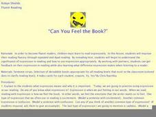 Can You Feel the Book? Lesson Plan