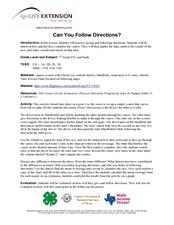 Collection Can You Follow Directions Worksheet Photos - Studioxcess