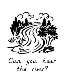 Can You Hear the River? Worksheet
