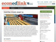 Capital Chips Lesson Plan
