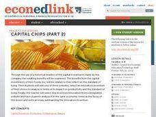 Capital Chips Part 2 Lesson Plan