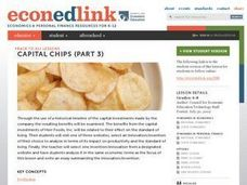 Capital Chips Part 3 Lesson Plan