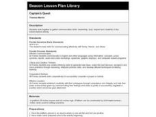 Captain's Quest Lesson Plan