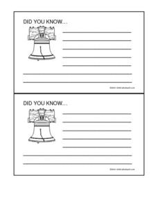 Cards Worksheet