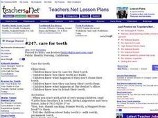 Care for Teeth Lesson Plan