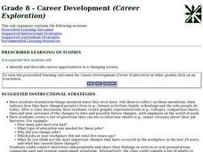 Career Development (Career Exploration) Lesson Plan