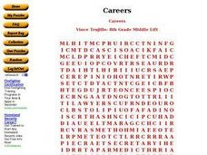 Careers Word Search Worksheet