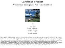 Caribbean Cruisers Lesson Plan
