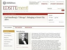 "Carl Sandburg's ""Chicago"": Bringing a Great City Alive Lesson Plan"