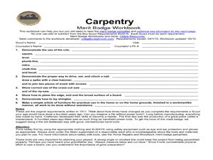 math worksheet : carpentry merit badge 5th  12th grade worksheet  lesson pla  : Carpentry Math Worksheets