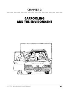 Carpooling and the Environment Lesson Plan