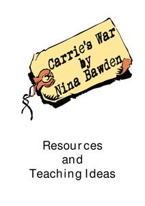 Carrie's War by Nina Bawden Worksheet
