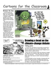 cartoons for the classroom the climate change debate 9th 12th grade worksheet lesson planet. Black Bedroom Furniture Sets. Home Design Ideas