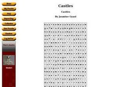 Castles Worksheet