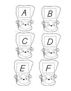 Cat in the Hat Alphabet Worksheet