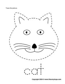 Cat Trace Worksheet