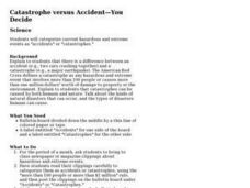 Catastrophe versus Accident -- You Decide Lesson Plan
