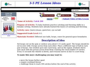 Catch 100 Lesson Plan