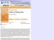 Catch a Falling Star Lesson Plan