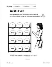 Catchin' Air Worksheet