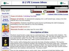 Catching Toe Fish Lesson Plan