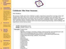 Celebrate The Four Seasons Lesson Plan