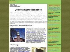 Celebrating Independence Lesson Plan