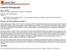 Celestial Photography Lesson Plan