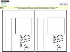Ch Sound Book Worksheet