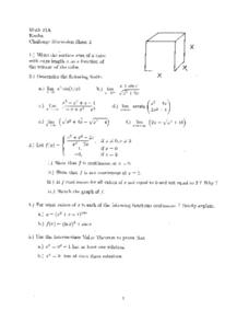 Challenge Discussion Sheet 2 Worksheet