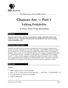 Chances Are-Part 1 Lesson Plan