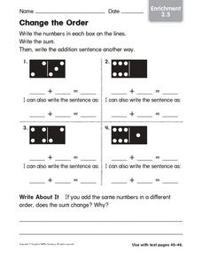 Change the Order Worksheet