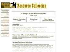 Changes in the Missouri River Lesson Plan